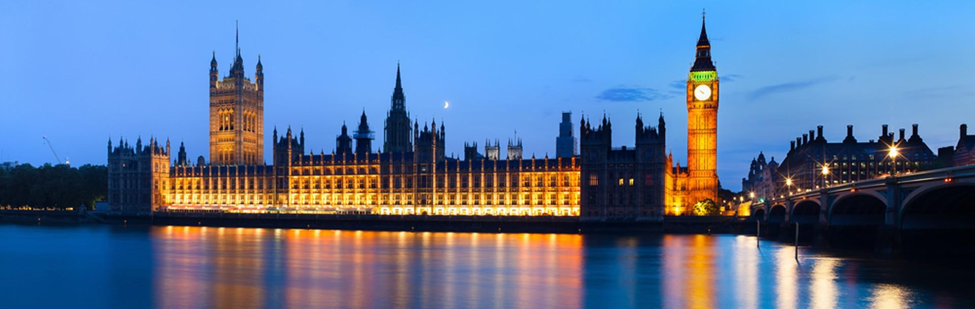 Big Ben & Houses of Parliament, London