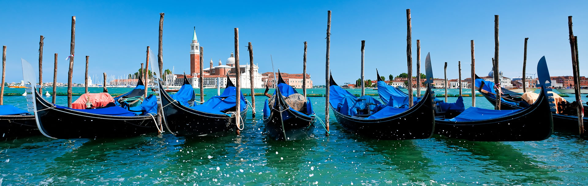 Travel Insurance Services Gondolas in Venice